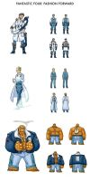 Fantastic Four: Fashion Forward by Christhopper