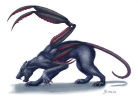 Displacer Beast by catnmaus