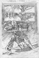 RAVAGER p.3 page 2 pencils by Cinar