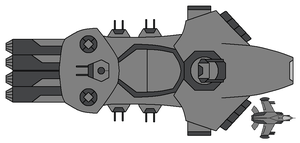 Mauler Frigate by omegafactor90