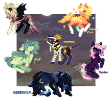 Hllween Pony Adopts - Auction - closed by IoneIy