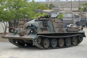 Type 78 Tank Recovery Vehicle by DDmurasame
