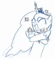 Because kittens by D0ra0g0n