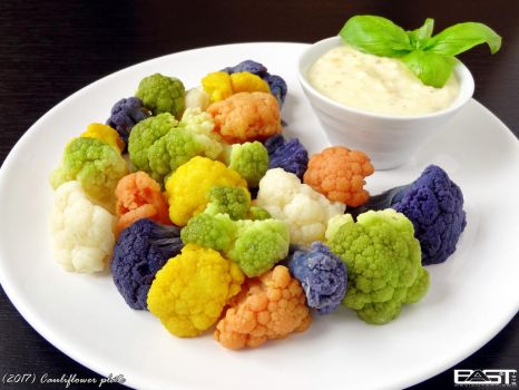 Cauliflower plate by PaSt1978