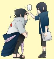 Sasuke And Itachi by Angeelvuee