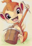 drum the drum chimchar by tikopets
