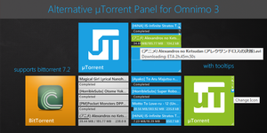 Alternative uTorrent Panel by brbk