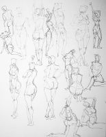 gestures I by Tetchist