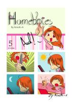 Homebbies 05 AUCH! by KimiK-A