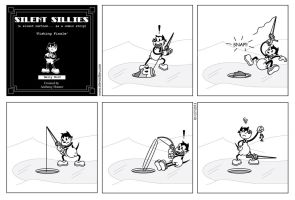 Silent Sillies 049 - Fishing Finale by JK-Antwon