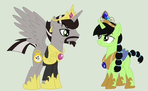 So imagine if Master and Nibs took over Equestria by PrimeFighterQue