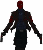 Red Hood Colored by TenguKarasu