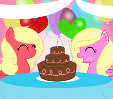 :AT: Happy (belated) Birthday! by Lady-Blush