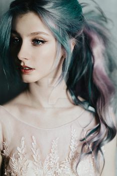 Pastel hair by thefirebomb