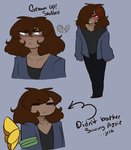 Soulless Frisk by Channydraws