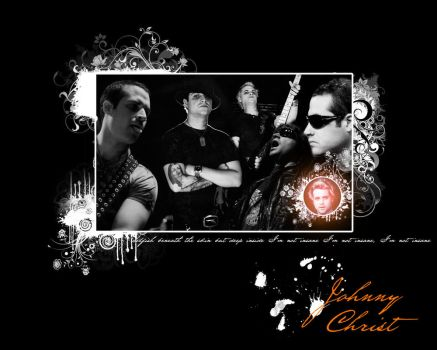 Johnny Christ Wallpaper 02 by dreamyvale