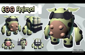 cow bot stage 2 by Peachlab