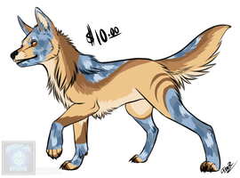 [Cash Adopt] - SemiNatural WolfDog 3 [SOLD] by Linkaton