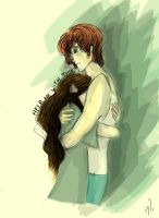 Finnick and Annie: Help me with madness by xxIgnisxx