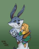 Bunnymund and Sophie - request by KeikoWasHere