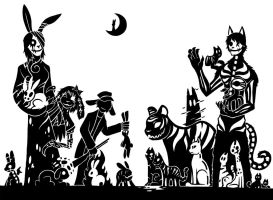 SCP Foundation - Rabbits and Cats by SunnyParallax