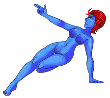 Mystique by MyaMisguided