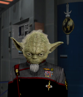 Mirror Universe Yoda by monkeysuncle30