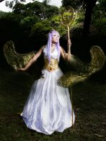 Athena cosplay. by Alexamadden