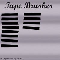 Tape Brushes By Miktik by Miktik