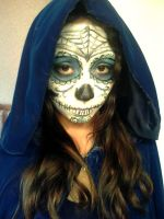 Halloween costume makeup test by JL010203