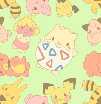 Baby Pokemon Tiles by PrincessBlankit
