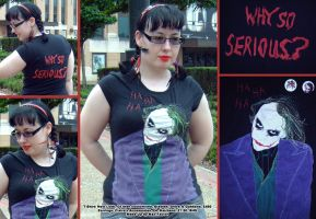 Joker T Shirt- Why So Serious by tavington