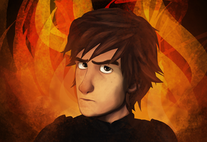 Hiccup by WinterHeath