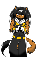 Gifty: Neo the Tigerchidna by LauryPinky972