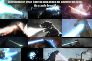 Godzilla's Awesome Power! by Angelgirl10