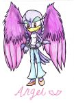 Angel new style by RACHLOVEDRAW