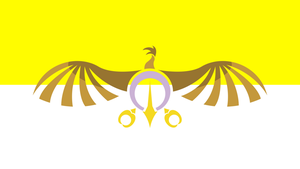 The Flag of the Griffin Empire (No Text) by PilotSolaris