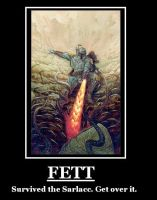 Fett Demotivational Poster by Revan117