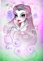 Raven Queen, Ever After High by darkodordevic