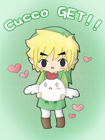 Link and Cucco by KuRiKo07