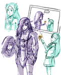 .:FF XIII-2:. Caius and Yeul by JACKSPICERCHASE