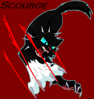 Scourge - Leader of Bloodclan by Peregrinestar