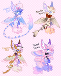 Nymphiel Adopts by MoggieDelight