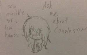 Ask me about couples~~ ( available for now~~ ) by JLrrblover