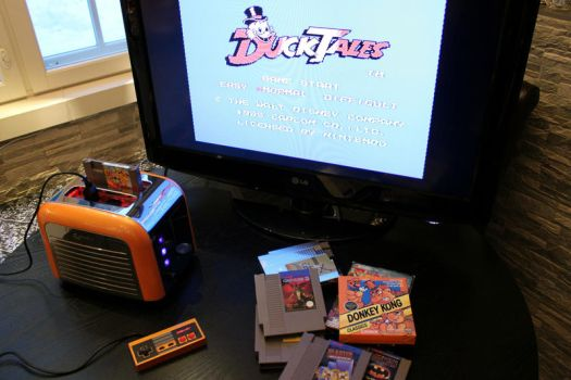 Nintoaster 2.0 Playing Duck Tales by Jaki33
