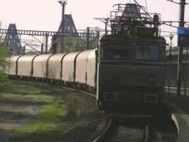 Freight train by ranger2011