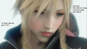 Cloud in Makeup by clorith
