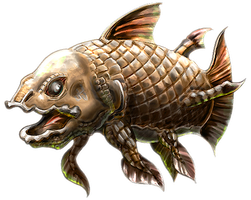 fossile Fish by Cyangmou