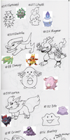Pokemon By Memory 1 by AnimeFan4Eternity23