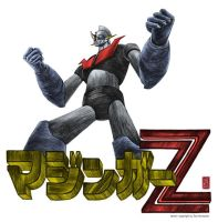 Mazinger Z coloured by christiangmarra